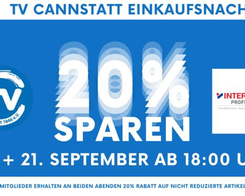 TVC Einkaufsnacht am 16. und 21. September im Carre