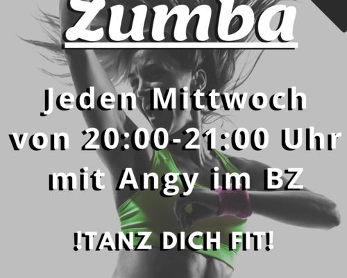 Neuer Zumba Kurs im BZ