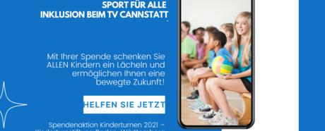 Sport für alle - Inklusion beim TV Cannstatt