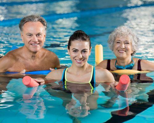Präventionskurs Aqua Fitness startet wieder